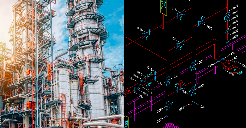 Drafting LDAR Services for Chemical Refinery Industries