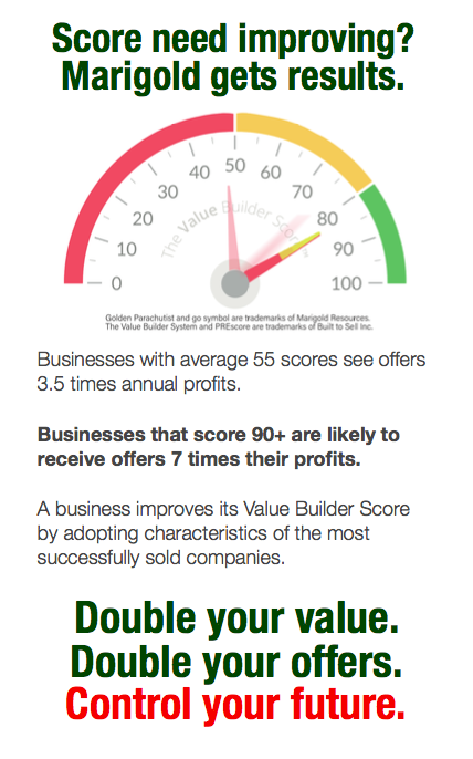 Does your Value Builder Score need improving? Marigold gets results.