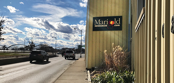 Marigold Resources Office at 308 E River Drive in Davenport, Iowa