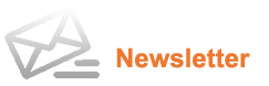 newsletter icon orange